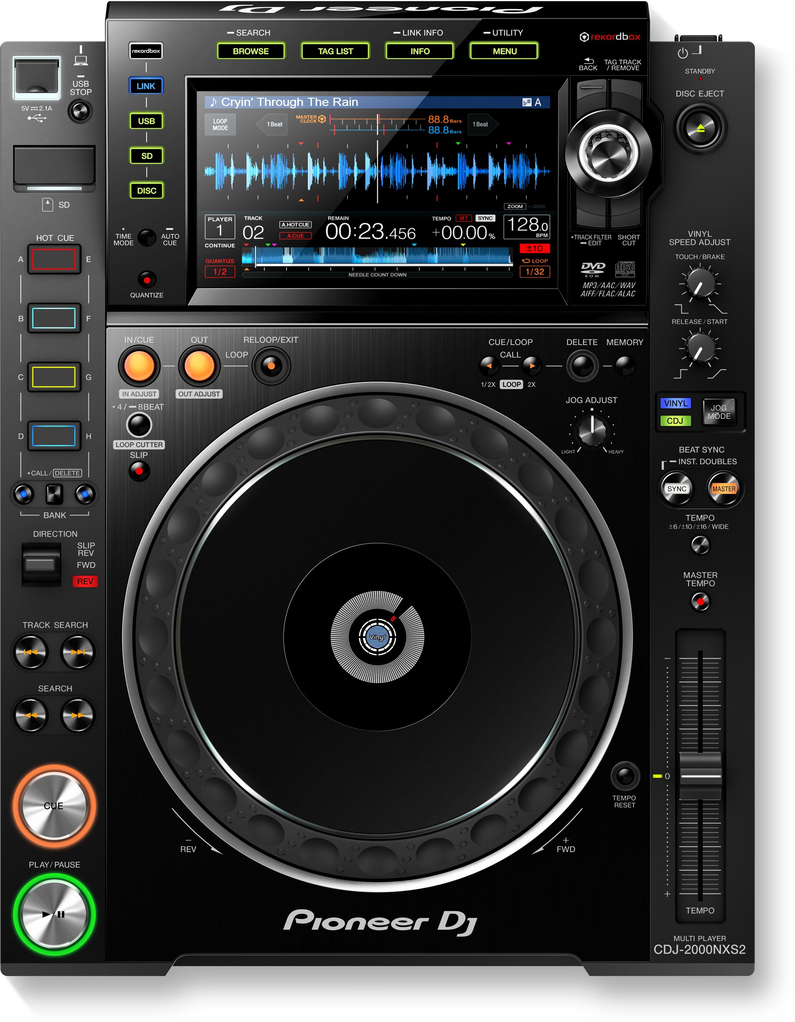 CD-/USB-/Cassette players