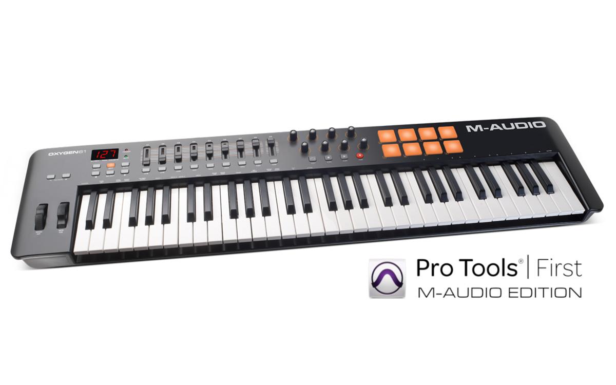 MIDI- keyboards + controllers